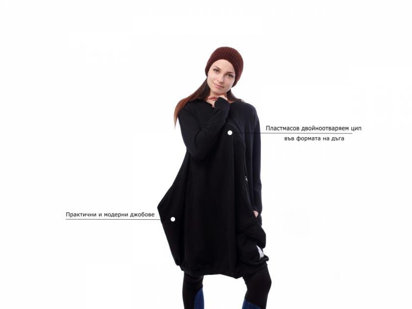 Рокля за кърмене Basic Line от Ekatrin