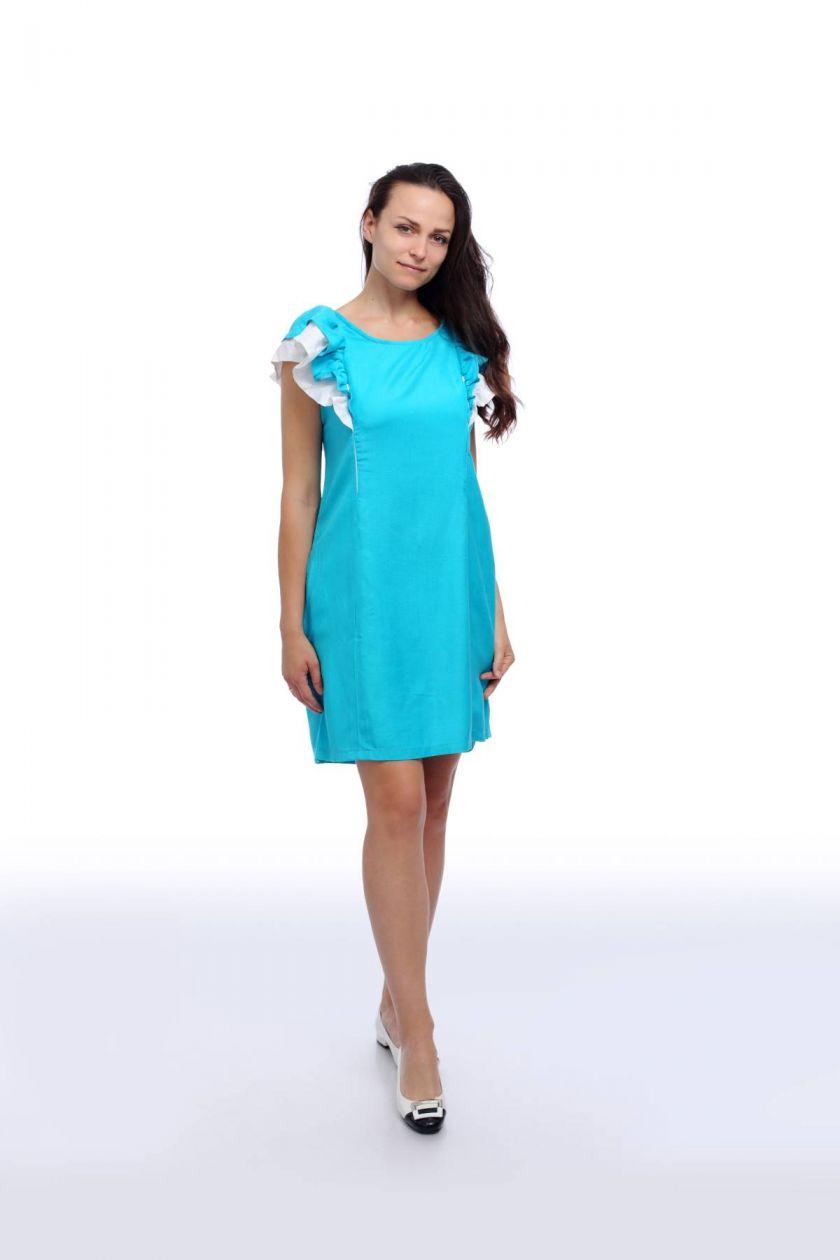 Ленена рокля за кърмене Flora oт Ekatrin